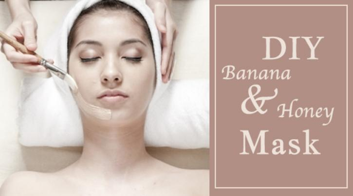 DIY Banana Honey Facial Mask