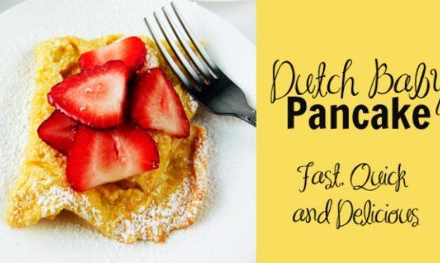 Recipe: Dutch Baby Pancake