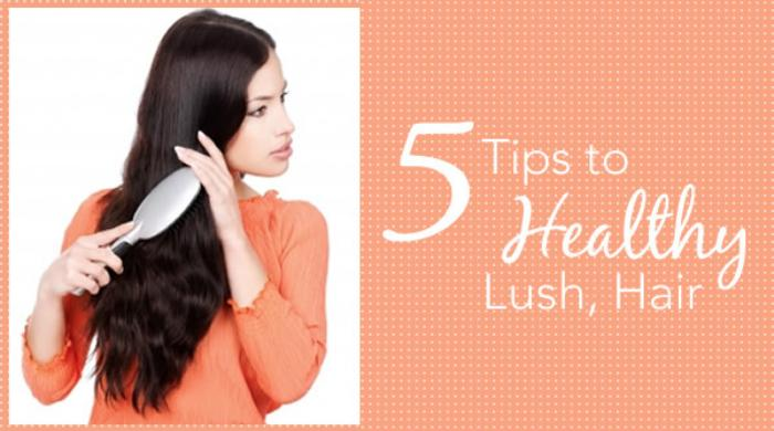 5 Frugal Tips to Healthy, Lush Hair