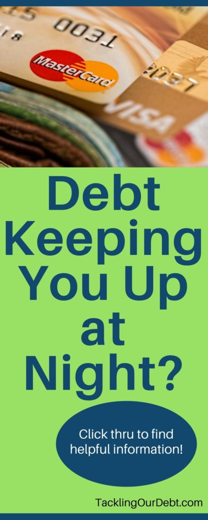 Debt Keeping You Up at Night? Click thru to find helpful information!