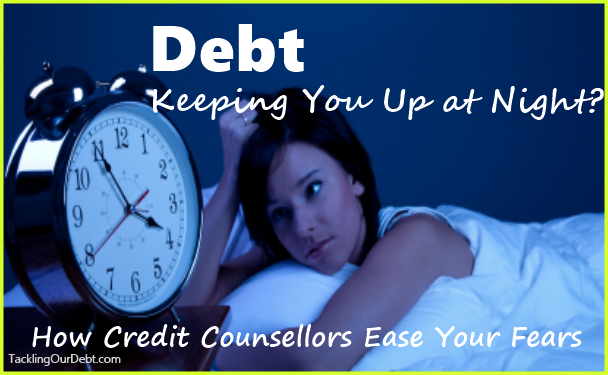 Debt Keeping You Up at Night?  How Credit Counselors Ease Your Fears