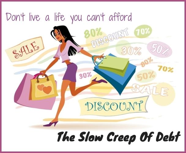 The Slow Creep Of Debt
