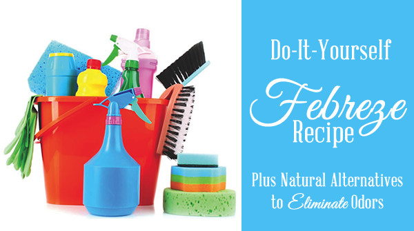 A Nice Way to Eliminate Odors with DIY Febreze