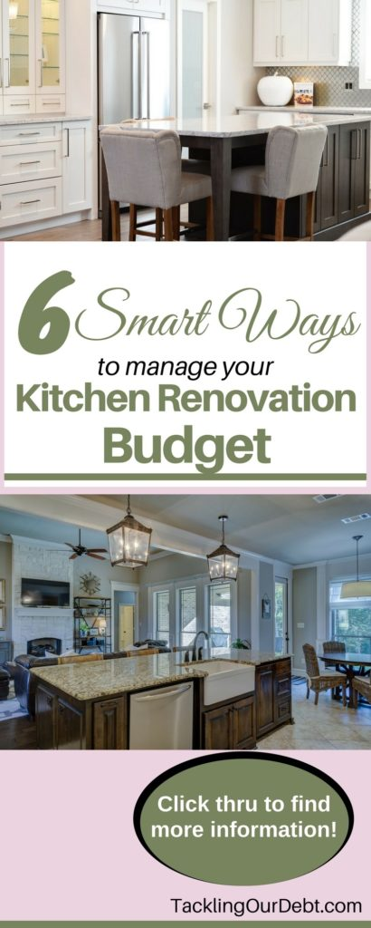 Kitchen Renovation Budget - Six Smart Ways to Manage Your Kitchen Renovation Budget So That You Always Have Enough Money.