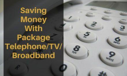 Saving Money With Package Telephone/TV/Broadband