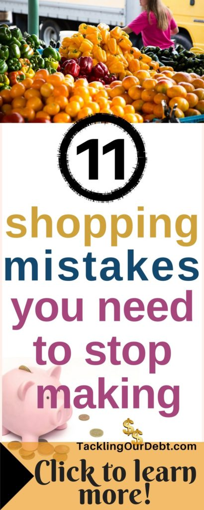 11 shopping mistakes you need to stop making #savemoney