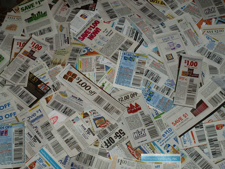 shopping and skipping coupons