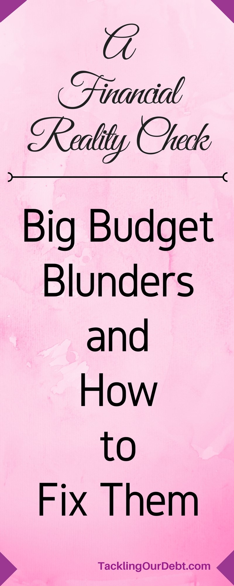 With good intentions, most people will set up a budget, but all too often they fail to follow it. This is most often because their budget wasn't set up properly in the first place. Here are some of the biggest mistakes people make when it comes to following a budget, and ways to avoid them to finally get your personal finances under control.