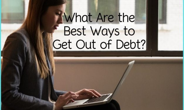What Are the Best Ways to Get Out of Debt?